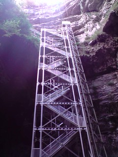 Entrée du gouffre de Padirac // Padirac caves entrance