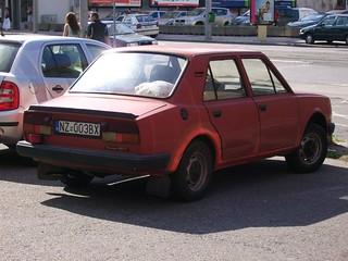 Skoda 105 L in Bratislava, Slovakia