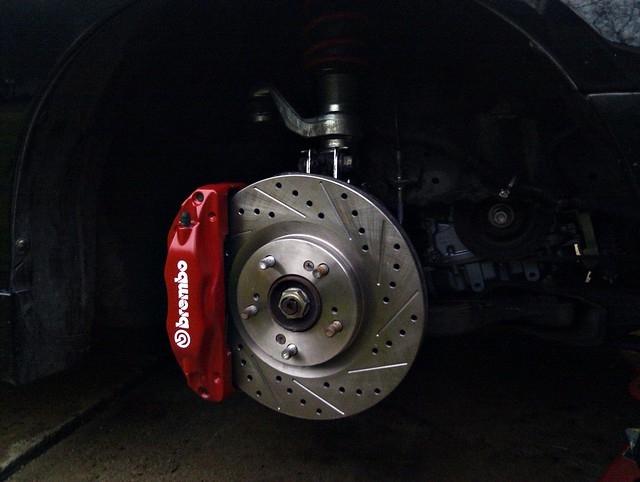 OMG Another TLS Front Caliper Tread Club RSX Message Board - Acura tl brembo calipers