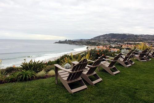 ocean california county ca orange beach point hotel chair carlton day view cloudy dana resort ritz laguna ritzcarlton luxury upscale niguel konomark