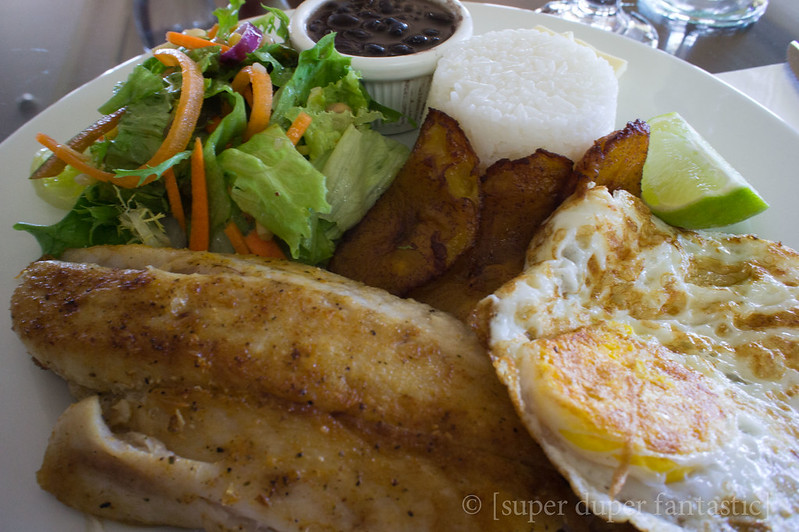 Meals in Costa Rica - Hilton Garden Inn - Liberia