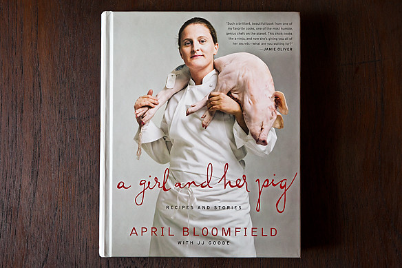 april bloomfield: a girl and her pig