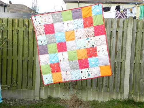 Quilt for baby niece / nephew