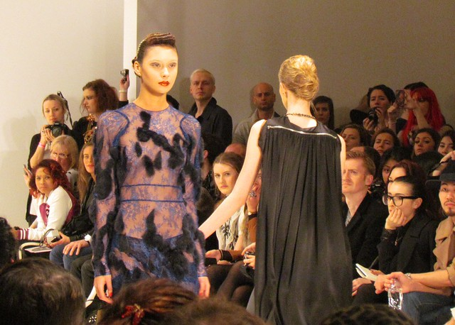 Bernard Chandran AW12 collection
