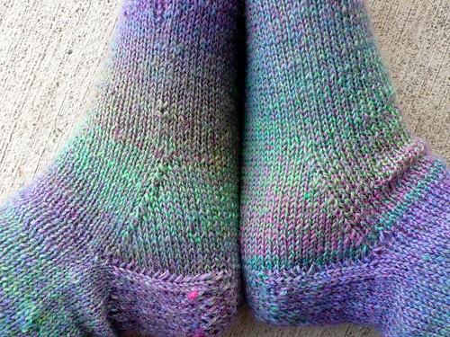 Handknit socks: Jojoland Melody sockyarn