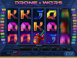 Drone Wars slot game online review