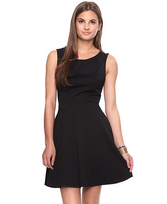 Fit and Flare Dress Little Black Dress