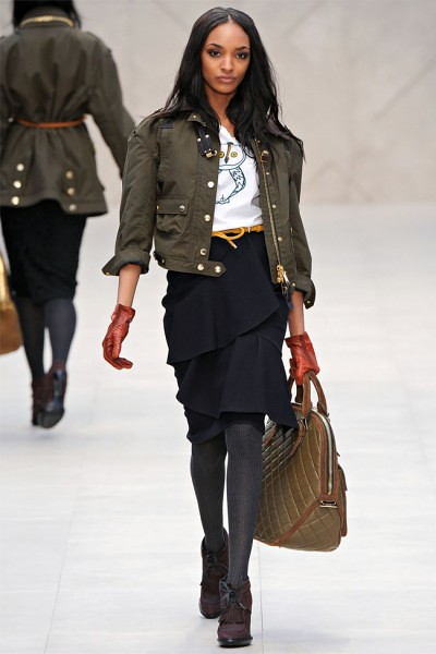 burberry runway fall 2012