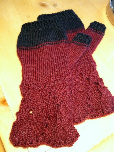 Fingerless Gloves for SC