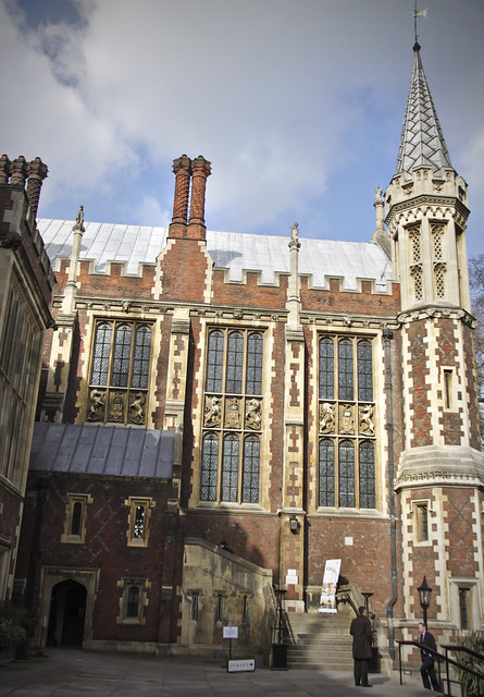 Lincoln's Inn - Entrance to the Great Hall (New Hall)