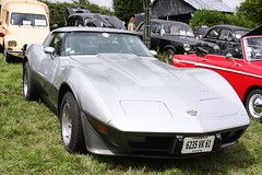 Une Corvette 1978 - Photo of Le Mesnil-Bacley