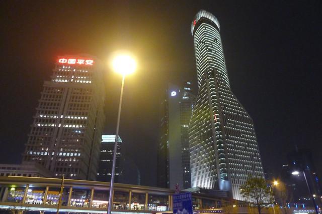 Shanghai: Pudong IFC & Oriental Pearl Tower 明珠塔