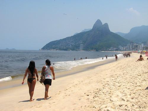 Playa de Ipanema, Río de Janeiro, Brasil