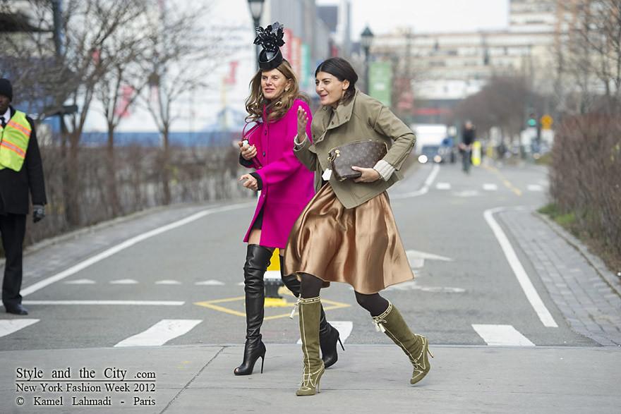 Style and the City Anna Dello Russo and Giovanna Battaglia