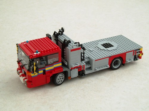 Mercedes Econic turntable ladder Work In Progress (2)