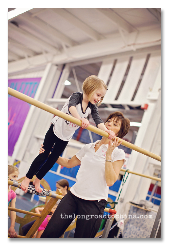 Sarah on the uneven bars BLOG
