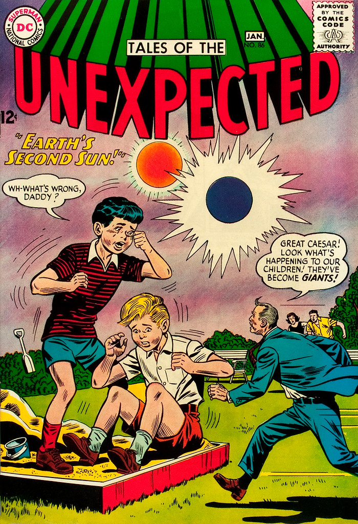 Tales of the Unexpected #86 (DC, 1965) Dick Dillin, Sheldon Moldoff cover