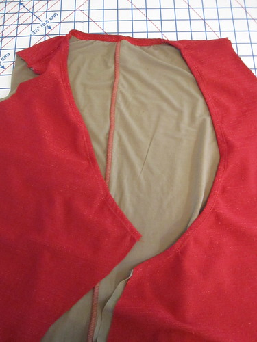 Finish Neckline with Clear Elastic