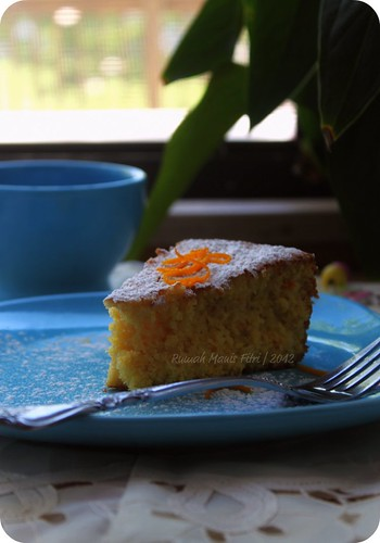 Flourless Oranges Cake by Fitri D. // Rumah Manis