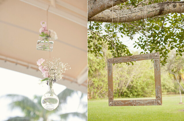 romantic-spring-summer-wedding-outdoor-reception-hanging-centerpieces