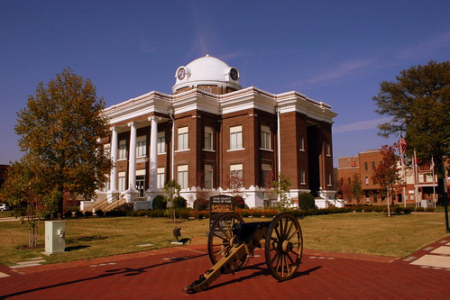 Dyer County Courthouse (Prominent Cannon View) - Dyersburg, TN