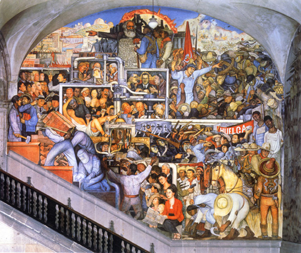 Pics for diego rivera mural palacio nacional for Diego rivera mural 1929