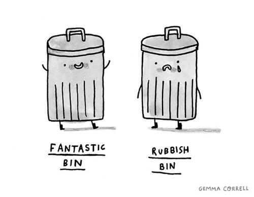fantastic / rubbish