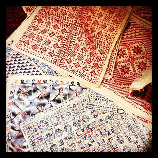 Bedouin textiles, Arab market