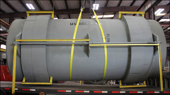 "102"" Dia. Tied Universal and Hinged Expansion Joints"