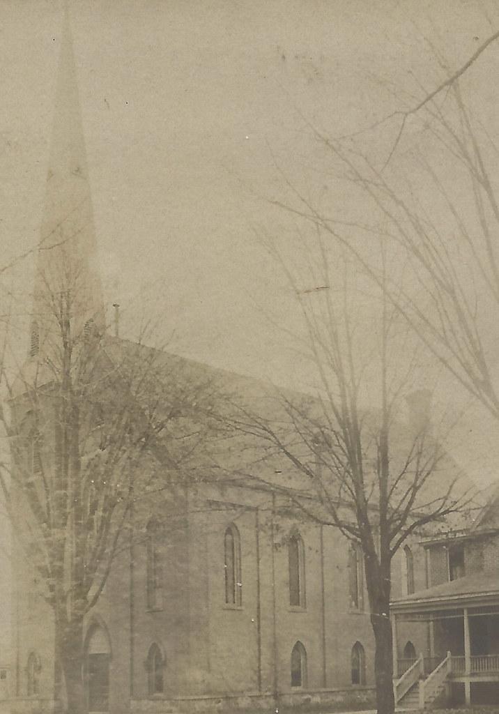 SE Birmingham MI RPPC ME Birmingham Methodist Episcopal Ch