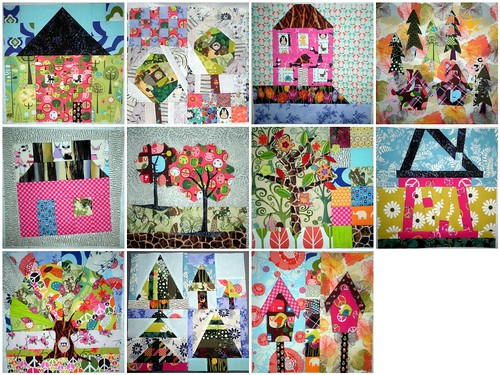 Home Sweet Home Quilt Along - Blocks 1-10 & Bonus Block 1