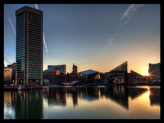 Inner Harbor Sunrise