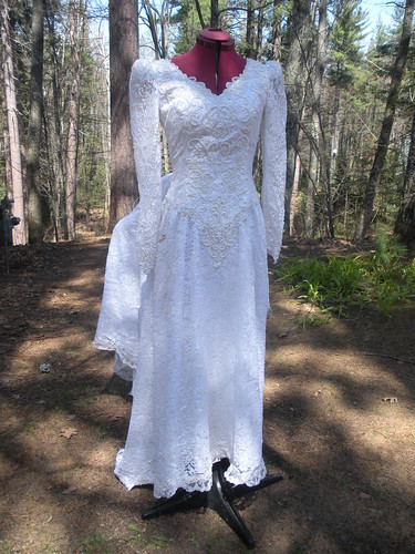 Wedding Dress Before
