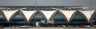 Thailand Terminal at Bangkok Suvarnabhumi Airport