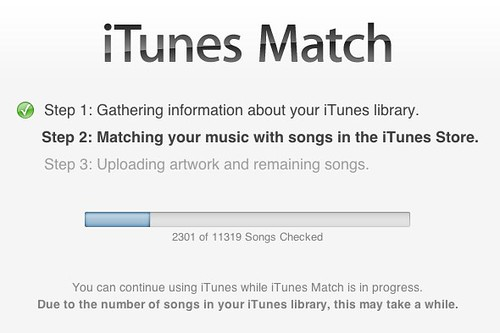 richbs org — My iTunes Match Experience