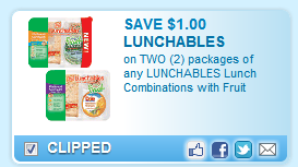Lunchables With Fruit Coupon