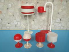 1970s plastic lamps - Modella