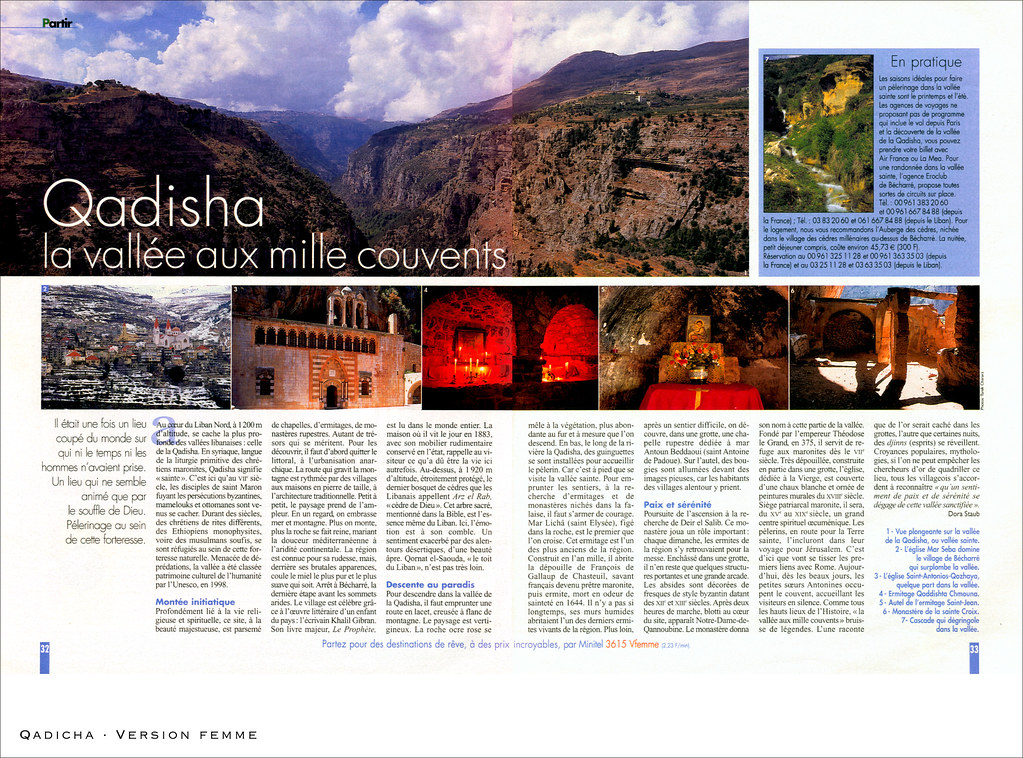 Qadicha, la vallée aux mille couvents