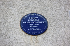 Photo of Henry Leopold Guermonprez blue plaque