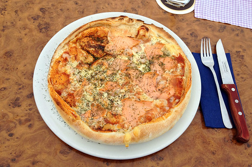 Pizza Salmon