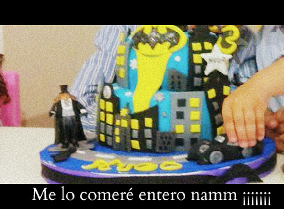 Tarta batman hugo