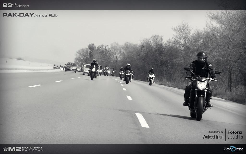 Fotorix Waleed - 23rd March 2012 BikerBoyz Gathering on M2 Motorway with Protocol - 7017417569 03ce11730e b