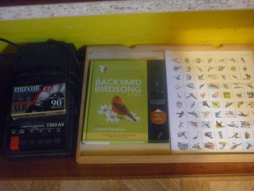 Creating Sound Bingo from Bird Songs (Photo from We Don't Need No Education)