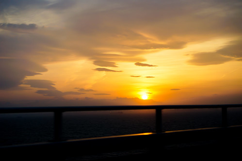 Sunset from the express way.