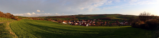 Panorama : Hervelinghen et alentours