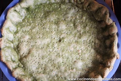 Tarta de espinacas y bacalao (12)