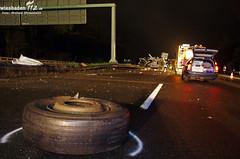 Tödlicher Unfall A3 Niedernhausen 24.04.12
