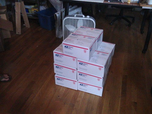 IR cameras ready to ship
