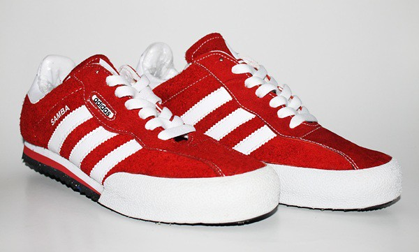 adidas samba super red