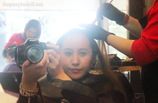 The Purple Doll Hair Color at LPK Premier Salon